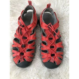 Keen Whisper Sport Water Sandals Coral Sz 10 US